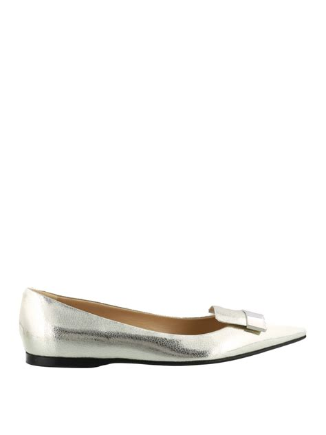 Flat Shoes Original Catenzo 248 sr1 laminated crackle leather flats by sergio flat