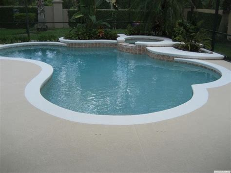 pool deck colors white edge pool deck color of pool deck should be a
