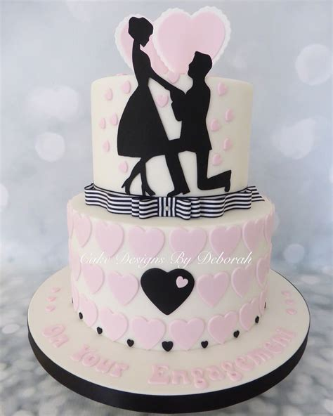 Engagement Cakes by 25 Best Engagement Cakes Ideas On