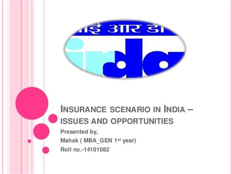 Insurance Mba In India insurance scenario in india issues and opportunities