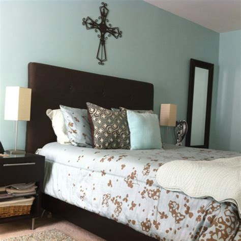 blue and brown bedrooms light blue and brown bedroom bedroom pinterest