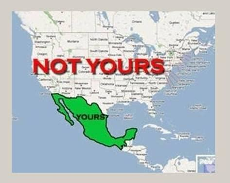 mexico and us map mexico declares war on the u s team obama looks the