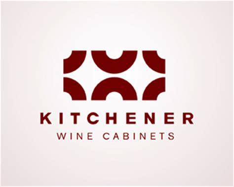 kitchener wine cabinets logopond logo brand identity inspiration
