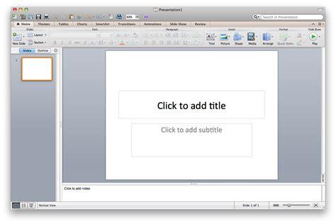 powerpoint tutorial on mac powerpoint le logiciel de pr 233 sentation de diaporama
