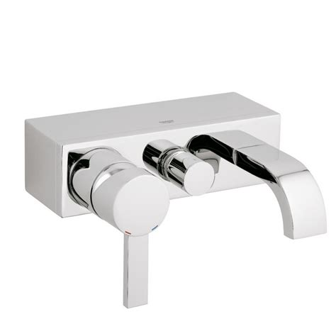 single lever bath shower mixer grohe spa wall mounted single lever bath shower mixer tap