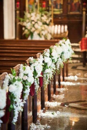 decoracion floral iglesia boda bonitos arreglos de flores para boda en iglesia