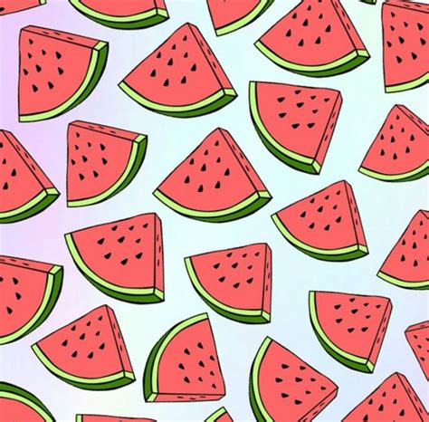 cute wallpaper watermelon image about watermelon in random by rainbow