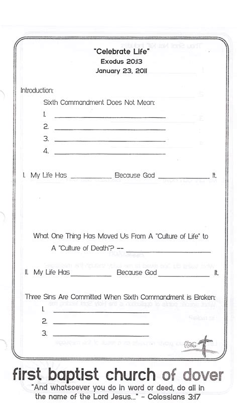 church of christ sermons outlines