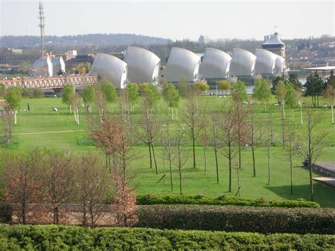 thames barrier park london thames barrier park london landscape architect s pages