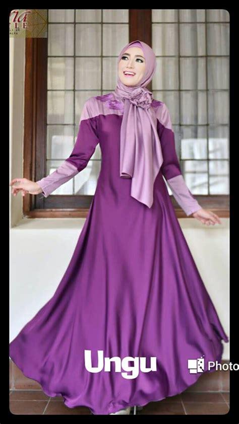 Dress Anak Wool High Quality Import Coklat Abu Premium a yunina by fitria style jual busana muslim