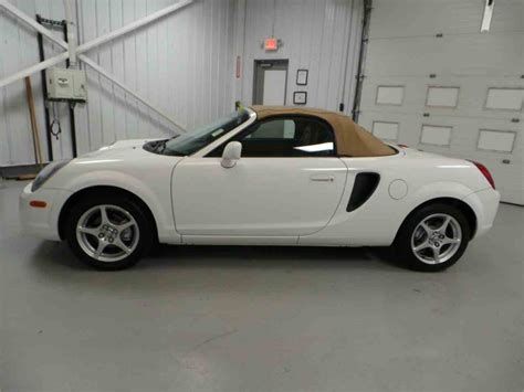Toyota Mr2 Spyder For Sale 2001 Toyota Mr2 Spyder For Sale Classiccars Cc 913977