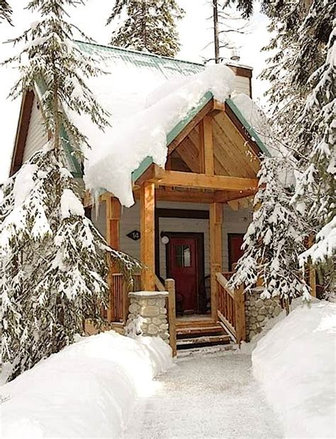 tiny mountain cabin in the snow tiny house pins