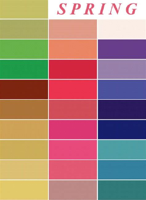 spring colors palette color me beautiful colors spring colors and warm spring