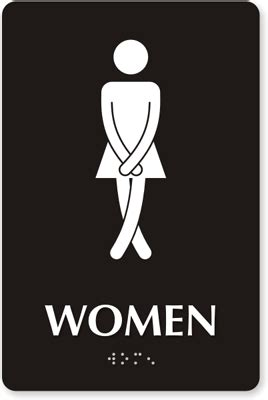 female comfort room signage womens restoom signs ladies restroom signs