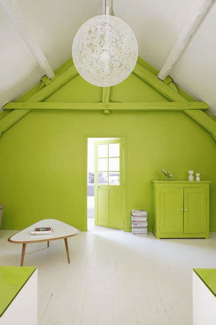 lime green accent wall bright green accent wall home ideas pinterest