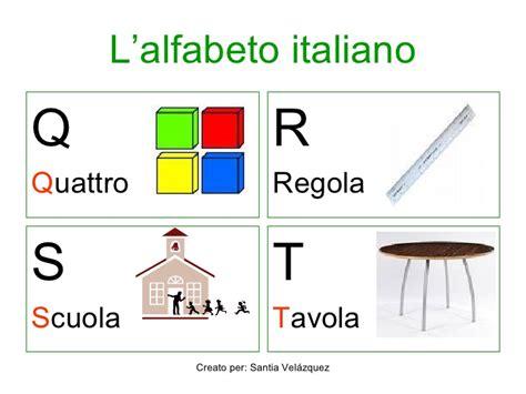 pronuncia lettere alfabeto italiano l alfabeto italiano
