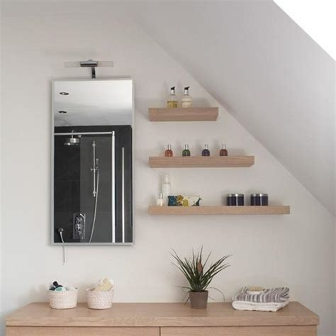 ideas for bathroom shelves bathroom open floating shelves decorating ideas dwell