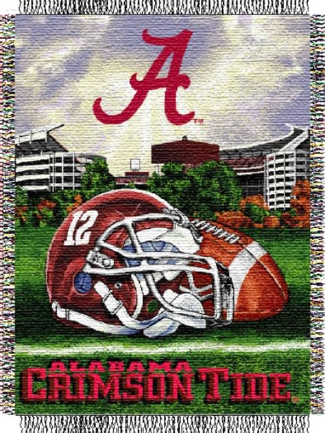Alabama Crimson Tide Home Decor Alabama Crimson Tide Ncaa College Quot Home Field Advantage