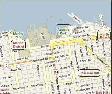 san francisco map of fishermans wharf fisherman s wharf discount san francisco hotels