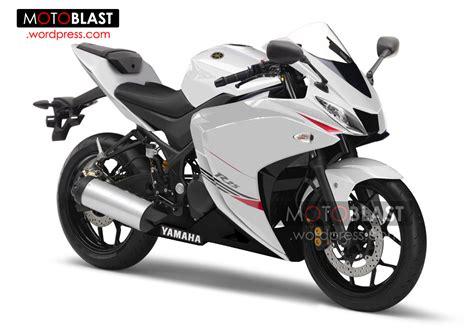 Fairing Custom R25 For Vixion Black White Energy rendering yamaha r25 production version
