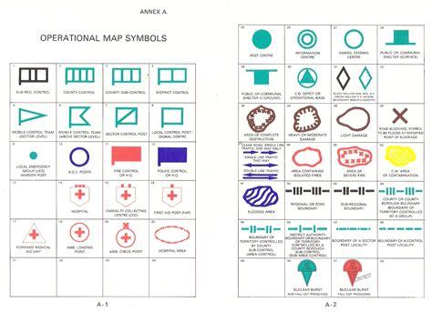 map symbols war map symbols
