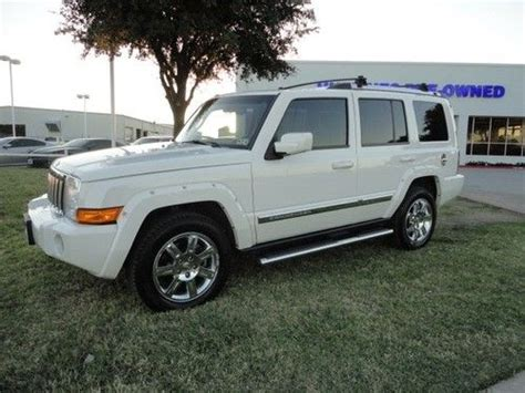 how to sell used cars 2010 jeep commander seat position control sell used limited 4x4 hemi nav rear dvd nice in lewisville texas united states for us