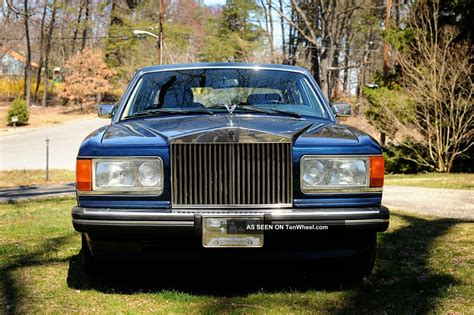 rolls royce bentley cars rolls royce silver spur 1989 car bentley