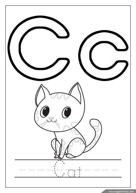 esl alphabet coloring pages 35 best teaching english to kids images on pinterest