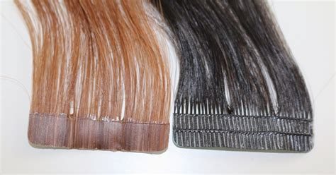 skin weft extensions hair weave rogue hair extensions skin weft mesh vs pu hair