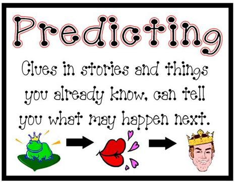 printable inference poster reading comprehension posters comprehension pinterest
