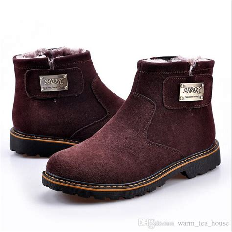 snow boots australia suede leather boots genuine
