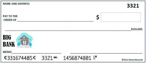 Blank Check Template For Students by A Blank Check For Place Value Math Coach S Corner
