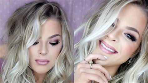tutorial makeup pac grwm too faced bon bon palette makeup tutorial l valerie