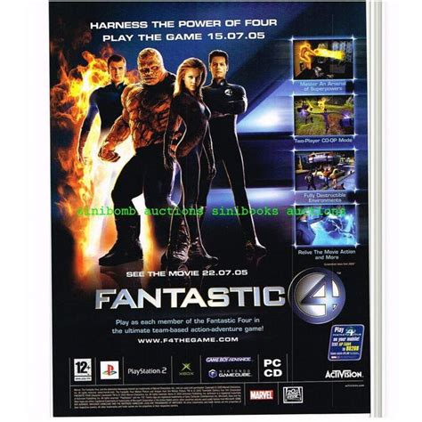 Ps2 Original Us Netzteil fantastic 4 nintendo gamecube ps2 xbox gba original