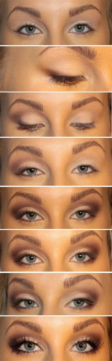 eyeliner tutorial for big eyes top 10 fall brown smoky eye tutorials top inspired
