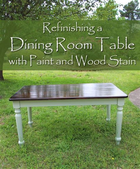 25 best ideas about refinished dining tables on