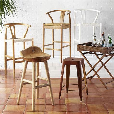 danish design bar stools natural bowen wishbone barstool world market