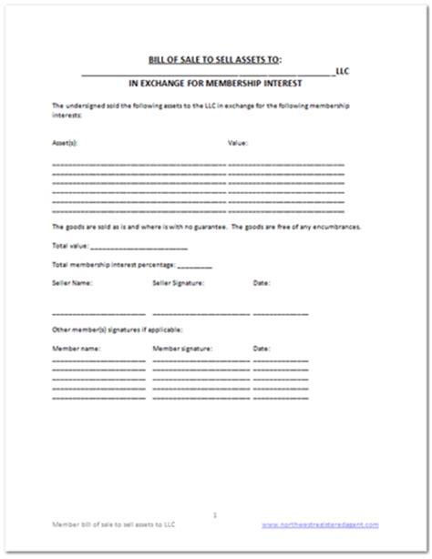 free business bill of sale template free llc bill of sale template diy business docs
