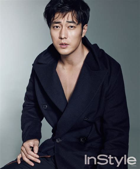 so ji sub home so ji sub in the september 2014 issue of instyle korea