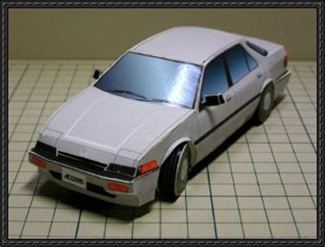 Honda Papercraft - honda accord papercraftsquare free papercraft