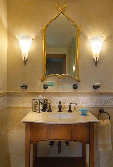 Interior Design Bathroom Ideas bathroom with open vanity carvers guild gothic twig