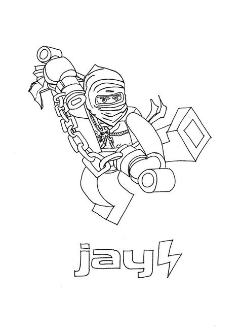 ninjago coloring pages jay dx free ninja jay coloring pages