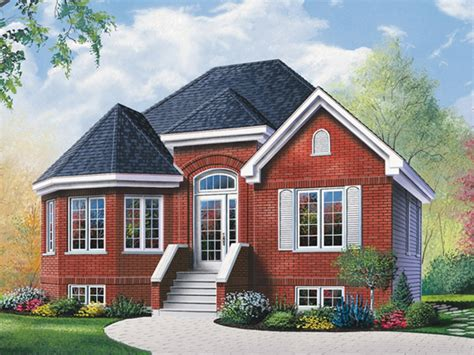 brick house plans with photos brick ranch house with bay window ranch house plans with