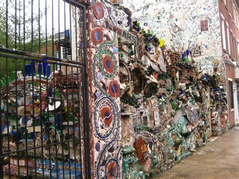 Magic Gardens Philadelphia the gods are bored of poppets and sea glass