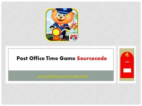 post office time sourcecode authorstream