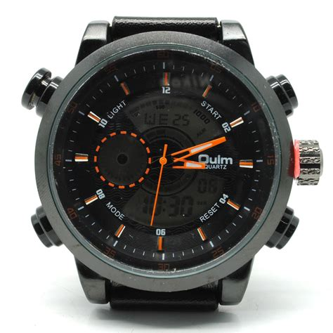Oulm Jam Tangan Analog Hp3558 oulm jam tangan analog hp3558 black orange