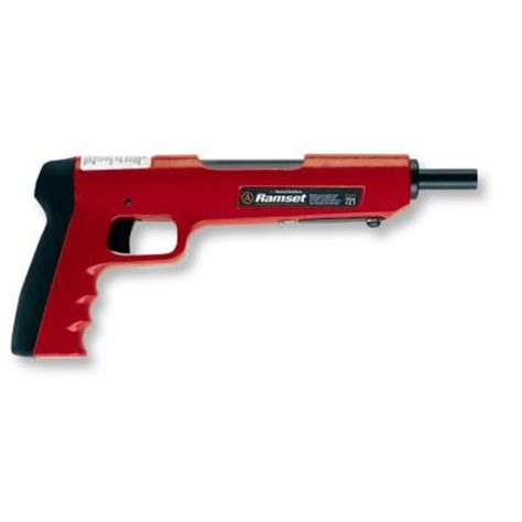 Ramset Hilti powder actuated nail gun home depot