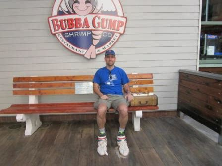 bubba gump bench bubba gump shrimp company the blog by javier
