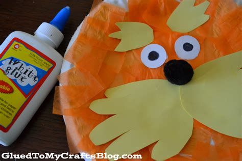 dr seuss paper plate craft lorax paper plate craft a owl
