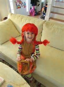 Monkey Halloween Costume Pippi Longstocking Peanut Butter Rye